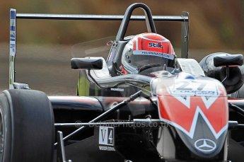 © Octane Photographic 2010. British F3 – Thruxton . Felipe Nasr - Raikkonen Robertson Racing. 7th August 2010. Digital Ref : CB7D7317
