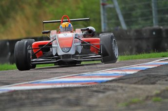 © Octane Photographic 2010. British F3 – Thruxton . Max Snegirev - Fortec Racing. 7th August 2010. Digital Ref : CB7D7439