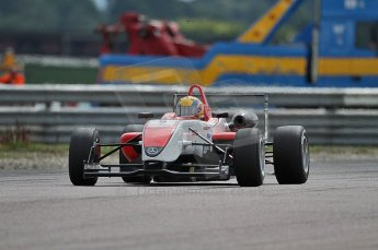 © Octane Photographic 2010. British F3 – Thruxton . Max Snegirev - Fortec Motorsport. 7th August 2010. Digital Ref : CB7D8496