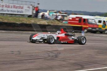 © Octane Photographic 2010. British F3 – Thruxton . Daniel McKenzie - Fortec Motorsport. 8th August 2010. Digital Ref : CB7D9757