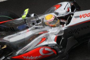 © Octane Photographic 2010. 2010 F1 Belgian Grand Prix, Friday August 27th 2010. McLaren MP4/25 - Lewis Hamilton. Digital Ref :0030 CB1D0180