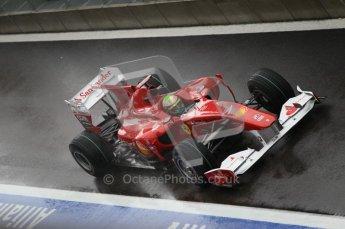 © Octane Photographic 2010. 2010 F1 Belgian Grand Prix, Friday August 27th 2010. Ferrari F10 - Felipe Massa. Digital Ref : 0030CB1D0385