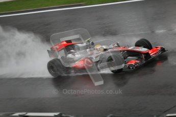 © Octane Photographic 2010. 2010 F1 Belgian Grand Prix, Friday August 27th 2010. McLaren MP4/25 - Lewis Hamilton. Digital Ref : 0030CB1D0392