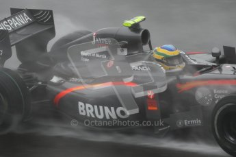 © Octane Photographic 2010. 2010 F1 Belgian Grand Prix, Friday August 27th 2010. Hispania F110 - Bruno Senna. Digital Ref : 0030CB1D0428