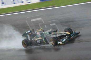 © Octane Photographic 2010. 2010 F1 Belgian Grand Prix, Friday August 27th 2010. Lotus T127 - Heikki Kovalainen. Digital Ref : 0030CB1D0742