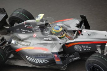 © Octane Photographic 2010. 2010 F1 Belgian Grand Prix, Friday August 27th 2010. Hispania F110 - Bruno Senna. Digital Ref : CB1D0880
