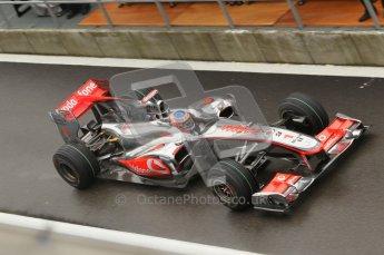 © Octane Photographic 2010. 2010 F1 Belgian Grand Prix, Friday August 27th 2010. Digital Ref : 0030CB1D1226