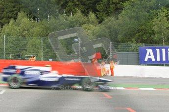 © Octane Photographic 2010. 2010 F1 Belgian Grand Prix, Friday August 27th 2010. Digital Ref : 0030CB1D1827