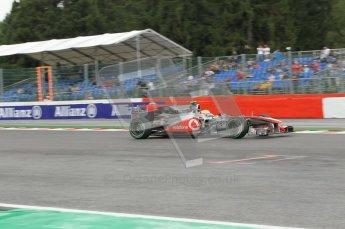 © Octane Photographic 2010. 2010 F1 Belgian Grand Prix, Friday August 27th 2010. Digital Ref : 0030CB1D1987