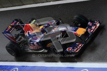 © Octane Photographic 2010. 2010 F1 Belgian Grand Prix, Friday August 27th 2010. Red Bull RB6 - Mark Webber. Digital Ref : LW7D0015