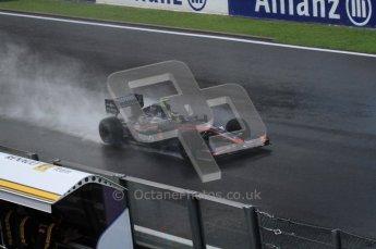 © Octane Photographic 2010. 2010 F1 Belgian Grand Prix, Friday August 27th 2010. Hispania F110 - Bruno Senna. Digital Ref : LW7D0064