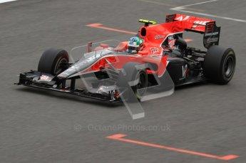 © Octane Photographic 2010. 2010 F1 Belgian Grand Prix, Saturday August 28th 2010. Digital Ref : 0030LW7D1307