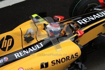 © Octane Photographic 2010. 2010 F1 Belgian Grand Prix, Friday August 27th 2010. Renault R30 - Vitaly Petrov. Digital Ref : 0030LW7D9672