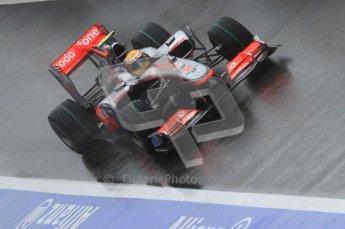 © Octane Photographic 2010. 2010 F1 Belgian Grand Prix, Friday August 27th 2010. McLaren MP4/25 - Lewis Hamilton. Digital Ref : 0030LW7D9722