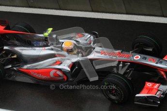 © Octane Photographic 2010. 2010 F1 Belgian Grand Prix, Friday August 27th 2010. McLaren MP4/25 - Lewis Hamilton. Digital Ref : 0030LW7D9737