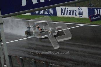 © Octane Photographic 2010. 2010 F1 Belgian Grand Prix, Friday August 27th 2010. Lotus T127 - Jarno Trulli. Digital Ref : 0030LW7D9753