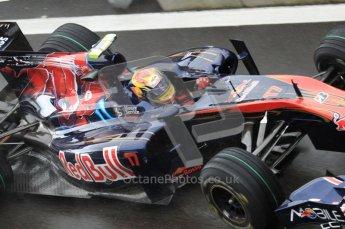 © Octane Photographic 2010. 2010 F1 Belgian Grand Prix, Friday August 27th 2010. Toro Rosso STR5 - Jamie Alguersuari. Digital Ref : 0030LW7D9807