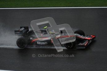 © Octane Photographic 2010. 2010 F1 Belgian Grand Prix, Friday August 27th 2010. Hispania F110 - Bruno Senna. Digital Ref : 0030LW7D9820
