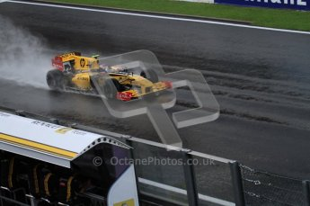 © Octane Photographic 2010. 2010 F1 Belgian Grand Prix, Friday August 27th 2010. Renault R30 - Vitaly Petrov. Digital Ref : 0030LW7D9987