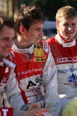 2010 Le Mans 24 Hour (24 Heures du Mans), 11th June 2010. Drivers' parade. Kolles - Christian Albers, Oliver Jarvis, Christian Bakkerud. Digital ref : CB1D2535