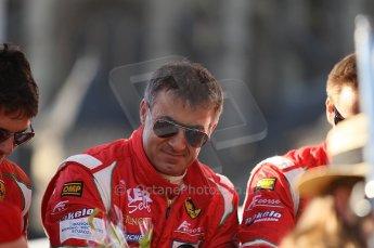 2010 Le Mans 24 Hour (24 Heures du Mans), 11th June 2010. Drivers' parade. AF Corse SRL - Jean Alesi. Digital ref : CB1D2683