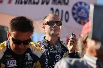 2010 Le Mans 24 Hour (24 Heures du Mans), 11th June 2010. Drivers' parade. Luc Aphand Aventures - Xavier Maassen. Digital ref : CB1D2756