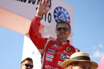 2010 Le Mans 24 Hour (24 Heures du Mans), 11th June 2010. Drivers' parade. AF Corse SRL - Jean Alesi. Digital ref : LW40D2919