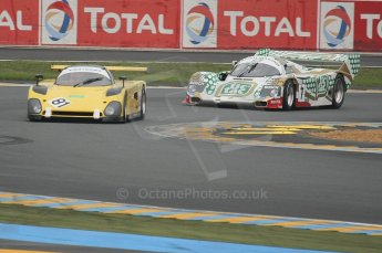 2010 Le Mans Group.C support race. Dunlop Chichane. Digital Ref : LW40D3433