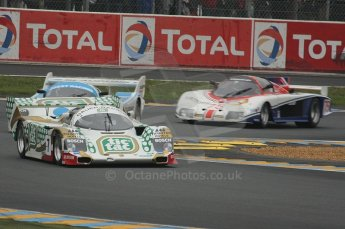 2010 Le Mans Group.C support race. Dunlop Chichane. Digital Ref : LW40D3493