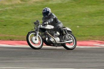 2010 Donington Revived! meeting, September 4th 2010, Motorbike demo laps. Digital ref : 0037CB1D2471