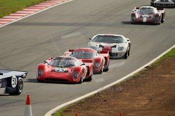 © Octane Photographic Ltd. 2010 Masters Racing - Donington September 4th 2010. World Sportscar Masters, Chevron B16 - Roberto Farneti. Digital Ref : cb1d2232