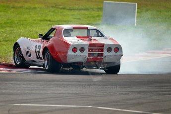 © Octane Photographic Ltd. 2010 Masters Racing - Donington September 4th 2010. World Sportscar Masters, Chevrolet Corvette - Peter Hallford/Tony Crudinton. Digital Ref : cb1d2240