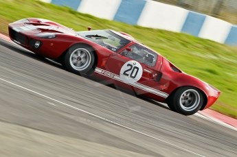 © Octane Photographic Ltd. 2010 Masters Racing - Donington September 4th 2010. Ford GT40 Mk.I - Chris Ball. Digital Ref : cb1d2316