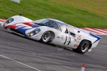 © Octane Photographic Ltd. 2010 Masters Racing - Donington September 4th 2010. World Sportscar Masters, Lola T70 Mk.3b - Oliver Bryant/Grahame Bryant.  Digital Ref : cb1d2385