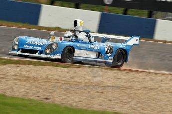 © Octane Photographic Ltd. 2010 Masters Racing - Donington September 4th 2010. Interserie Revival. Matra MS670 - Rob Hall. Digital Ref : cb1d2770