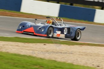 © Octane Photographic Ltd. 2010 Masters Racing - Donington September 4th 2010. Interserie Revival. Chevron B19 - Sandy Watson. Digital Ref : cb1d2773