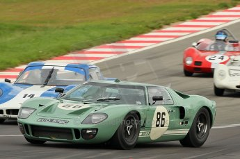 © Octane Photographic Ltd. 2010 Masters Racing - Donington September 4th 2010. Sports Racing Masters. Ford GT40 Mk.I David Foresbrey/Andrew Newall. Digital Ref : cb1d3473