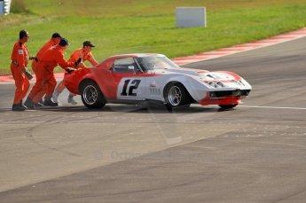 © Octane Photographic Ltd. 2010 Masters Racing - Donington September 4th 2010. World Sportscar Masters. Chevrolet Corvette - Peter Hallford/Tony Crudington. Digital Ref :CB7D5121