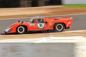 © Octane Photographic Ltd. 2010 Masters Racing - Donington September 4th 2010. World Sportscar Masters. Lola T70 Mk.3b - Chris Beighton/Jon Finnemore. Digital Ref :CB7D5121