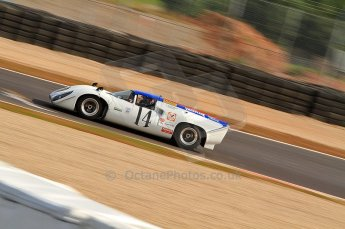 © Octane Photographic Ltd. 2010 Masters Racing - Donington September 4th 2010. World Sportscar Masters. Lola T70 Mk.3b - Oliver Bryant/Grahame Bryant. Digital Ref :CB7D5121