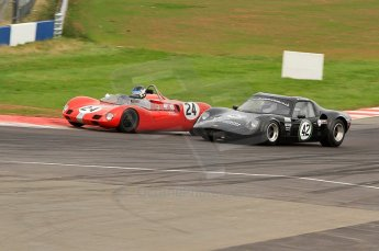 © Octane Photographic Ltd. 2010 Masters Racing - Donington September 4th 2010. Sports Racing Masters. Elva Mk.VII - Ron Maydon. Digital Ref : CB7D6209