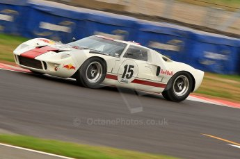 © Octane Photographic Ltd. 2010 Masters Racing - Donington September 4th 2010. Sports Racing Masters. Ford GT40 Mk.I - Adrian Newey. Digital Ref : CB7D6342
