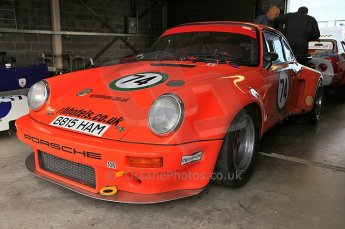 © Octane Photographic Ltd. 2010 Masters Racing - Donington September 4th 2010. Porsche 911RSR - Paul Howells/Graham Howells. Digital Ref : CB5D6199