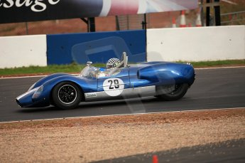 © Octane Photographic Ltd. 2010 Masters Racing - Donington September 4th 2010. Cooper Monaco King Cobra - Keith Ahlers. Digital Ref : CB5D9914