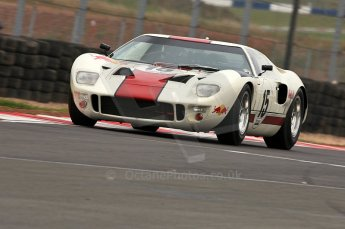 © Octane Photographic Ltd. 2010 Masters Racing - Donington September 4th 2010. Sports Racing Masters. Ford GT40 Mk.I - Adrian Newey. Digital Ref : CB5D9983