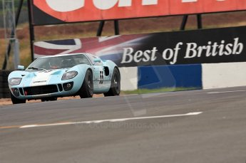 © Octane Photographic Ltd. 2010 Masters Racing - Donington September 4th 2010. Sports Racing Masters. Ford GT40 Mk.I - Chris Buncombe/Alex Buncombe. Digital Ref : CB5D9998