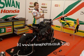 © A.Wilson for Octane Photographic 2010. NW200 11th May 2011. Digital Ref : 0065-swan-pits-biker-3-stuart-easton