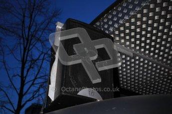 World © Octane Photographic 2010. 2010 Red Bull City Limits street demo Belfast, David Coulthard. Digital ref : 0027CB1D4038