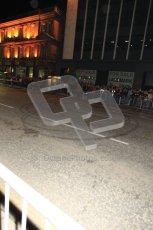 World © Octane Photographic 2010. 2010 Red Bull City Limits street demo Belfast, David Coulthard. Digital ref : 0027CB1D4122
