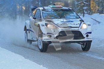 © North One Sport Ltd.2010 / Octane Photographic Ltd.2010. WRC Sweden SS9 Run ii. February 13th 2010. Digital Ref : 0209cb1d1994